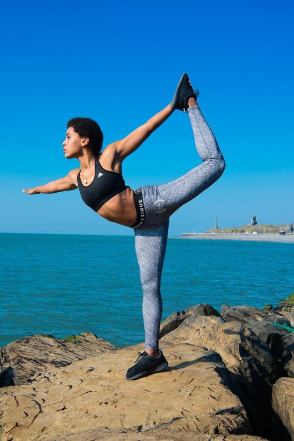 Mel Moore fitness yoga